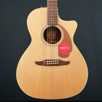 Fender Newporter Player Acoustic Guitar, Walnut Fingerboard, Natural 0970743021