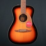Fender Malibu Player Concert Acoustic Guitar, Walnut Fingerboard, Sunburst 0970722003