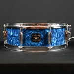 "Used Gretsch 5 x 14""  Blackhawk Snare in Blue Swirl UBLACKHAWKSNARE"