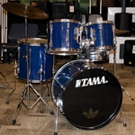 Used Tama Rockstar Drum Kit with B8 Cymbals & Hardware ISS16613