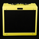 Fender Blues Junior IV 15-Watt Limited Swamp Thing Bright Yellow Amplifier FSR 2020 2231500263