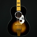 Vintage Kay / Harmony L 3239 Parlor Guitar Music Note Blond Board USILVERTONE3/4