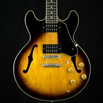 1981 Ibanez AS-50 Archtop Electric Guitar, Japan, Gibson Pickups, Hard Case, Sunburst UIBAS50