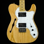 2016 Squier Thinline Telecaster, Natural, Classic Vibe '70's ISS16822