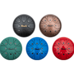 "Amahi 8"" Steel Tongue Drum - Available in a variets of colors - Includes carry bag KLG8"