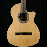 Alhambra 1OP-CW Classical Acoustic-Electric Guitar Natural