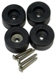Peavey Set of (4) Large Rubber Feet for cabinets and amplifiers 5161