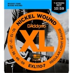 D'Addario EXL Electric  7string .010 - .059 EXL110-7
