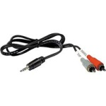 Hosa Stereo 3.5mm (TRS) to Dual RCA - 6' CMR206