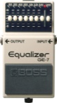 Boss GE-7 7 Band Graphic EQ Pedal GE7