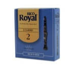 Rico Royal Bb Clarinet Reed - 10 pac (available in several strengths) RCB1020