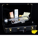 1989 Bach TR200 Trumpet, Silver Plated UTR10