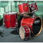 Mapex Mars Pro 5 Piece Drum Kit in Red Lacquer UDK13
