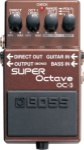 Boss OC-3 Super Octive Pedal OC3