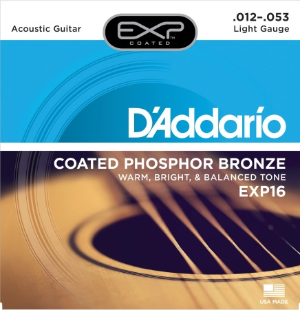 D'addario Extended Play Phosphor Bronze (12-53) EXP16