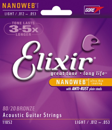 Elixir Nanoweb Light (12-53) 11052