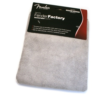 Fender Factory Microfiber Cloth (Gray) 0990523000
