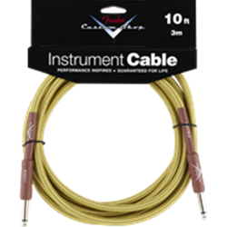 Fender® Custom Shop Performance Series Cable, 10', Tweed 0990820028