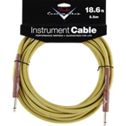 Fender® Custom Shop Performance Series Cable, 18.6', Tweed 0990820030