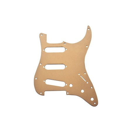 Fender Pickguard, Strat®, 11 Hole S/S/S Configuration, Gold Anodized 0992139000