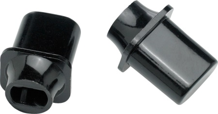 "Fender Switch Tip, Tele®, ""Top Hat"" Style, Black (2) 0994937000"
