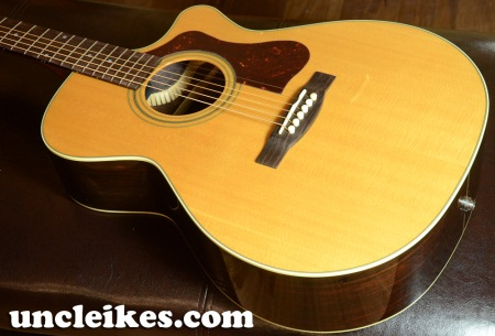 2012 Guild F30RCE Standard Acoustic - Electric Guitar w/ Case