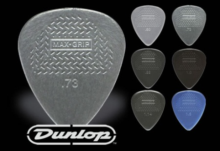 Dunlop Max Grip Standard 6 Pick Players Pack 449P