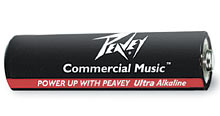 Peavey AA Ultra Alkaline Battery 4 Pack 00497010