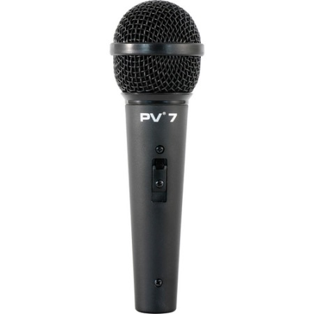 "Peavey PV 7 Microphone with 1/4"" to XLR Mic Cable 03013500"