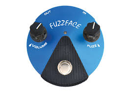 Dunlop Silicon Fuzz Face Mini Blue Guitar Effects Pedal FFM1