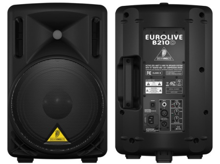 Behringer Active 200-Watt 2-Way PA Speaker System B210D