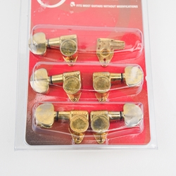 Vintage Grover Gold Futura Tuning Machines 3+2 (Set of 5) PAF UMISC113