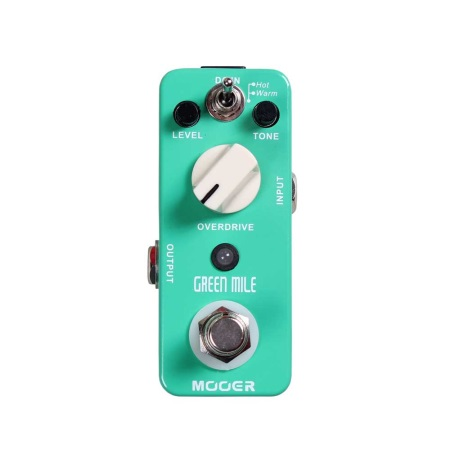 Mooer Green Mile Overdrive Effects Pedal MOD1