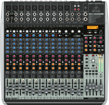 Behringer QX2442USB Mixer with USB, Compressors & Effects