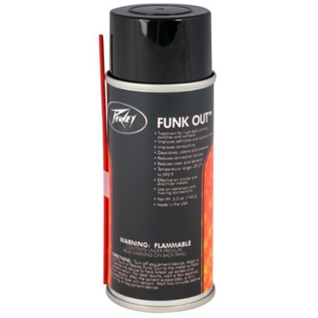 "Peavey ""Funk-Out"" Electronic Cleaner 00456600"