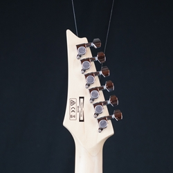 Ibanez GIO Series GRX70QA Electric Guitar, Quilt Top, Transparent Black Sunburst GRX70QATKS