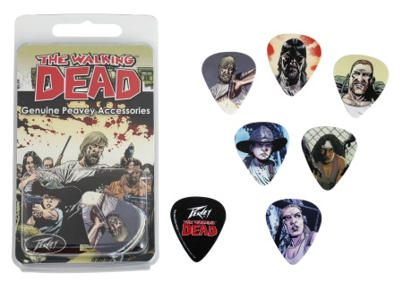 Peavey The Walking Dead Characters Pick Pack 03019760