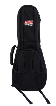 Gator 4G Style gig bag for Soprano Style Ukulele with adjustable backpack straps GB4GUKESOP