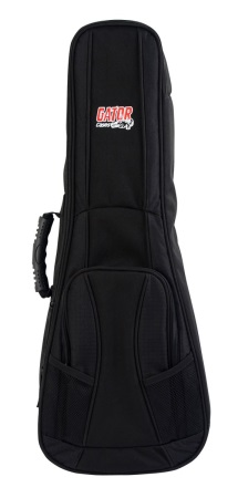 Gator 4G Style gig bag for Tenor Style Ukulele with adjustable backpack straps GB4GUKETEN