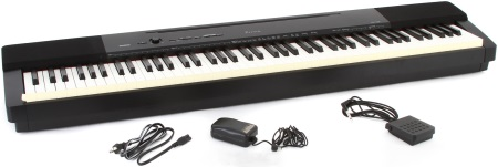 Casio PX-160 Full Size Weighted Key Digital Piano PX160BK