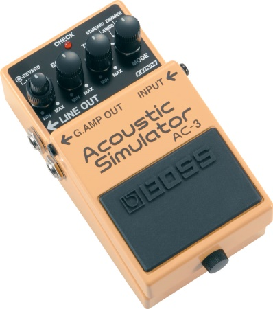 Boss AC-3 Acoustic Simulator Pedal AC3