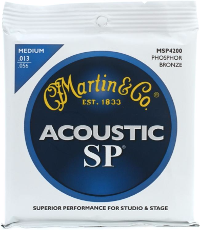Martin SP Medium Guage Acoustic Strings MSP4200