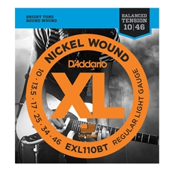 D'Addario .010-.046 Balanced Tension EXL110BT