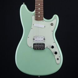 Fender Duo Sonic HS Surf Green Electric Guitar, Rosewood Fretboard 0144020549