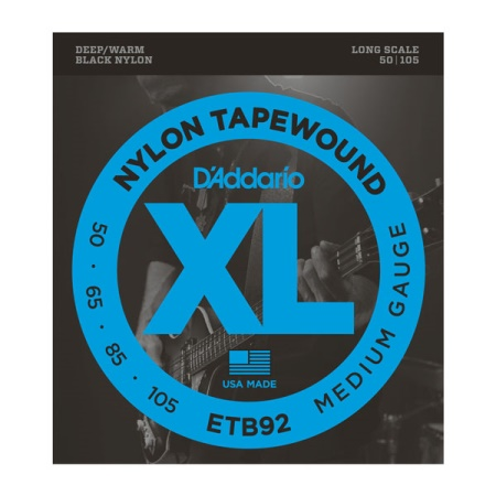 D'addario Tapewound Bass, Medium, 50-105 ETB92
