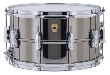 Ludwig 8x14 Black Beauty Snare Drum LB408