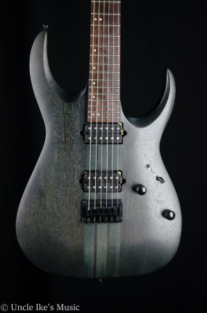 Ibanez RGA Series RGAT62 Electric Nek Thru Guitar- Transparent Gray Flat RGAT62TGF