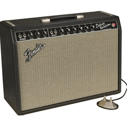 "Fender '64 Custom Deluxe Reverb 12"" Tube Amp - Handwired 8180000000"