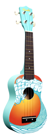 Amahi Tropical Series Ukulele DCUK