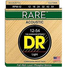DR Rare Phos. Bronze Acoustic 12-54 Light RPM-12